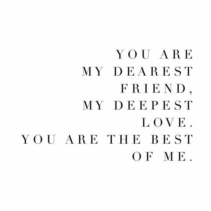 Best friend love quotes