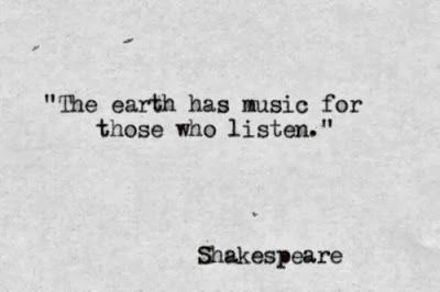 "Shakespeare Life Quotes Simple William Shakespeare Quotes ""the Earth Has Music For Those Who"