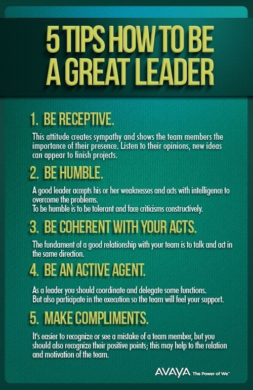 5 Tips How To Be A Great Leader Quotesstory Com