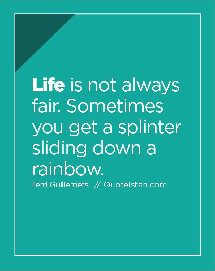 Best Quotes about Strength #Life is not always fair ...