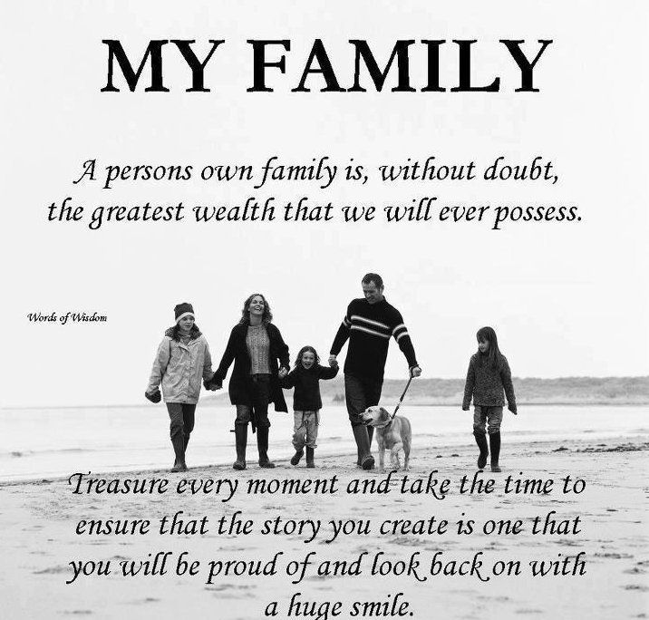 Best Quotes About Strength Luckily To Have A Big Family That Spend A
