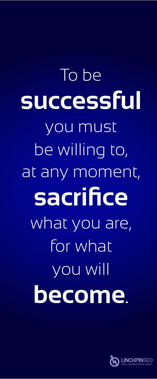 College essay about sacrifice