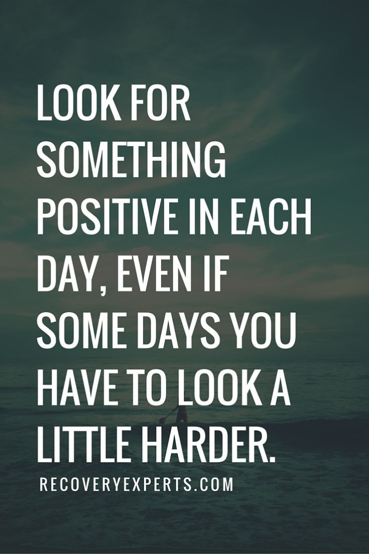 Quotes On Positive Thinking Life  Top Alcohol Drug Rehab Listing  Recoveryexperts