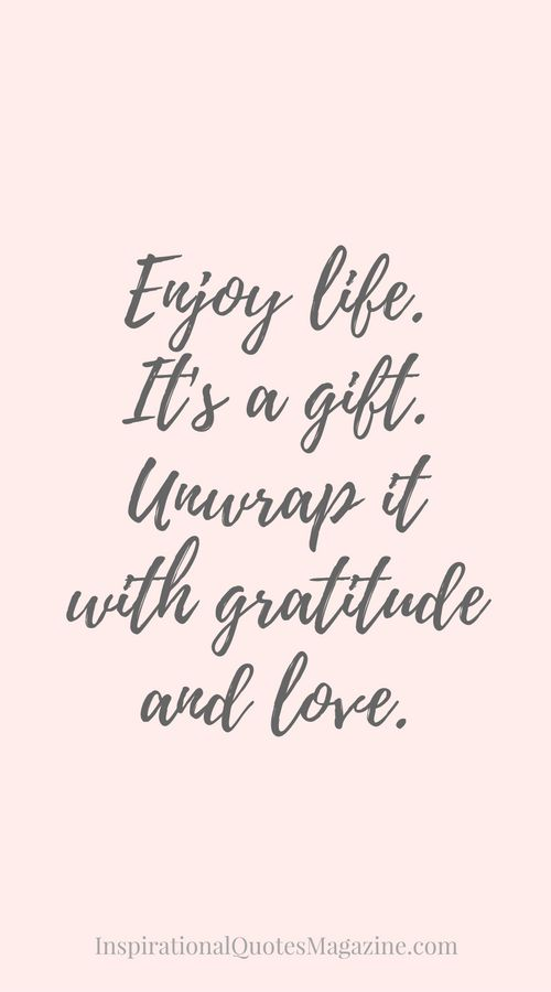 Love Inspirational Quote About Life Gratitude And Happiness