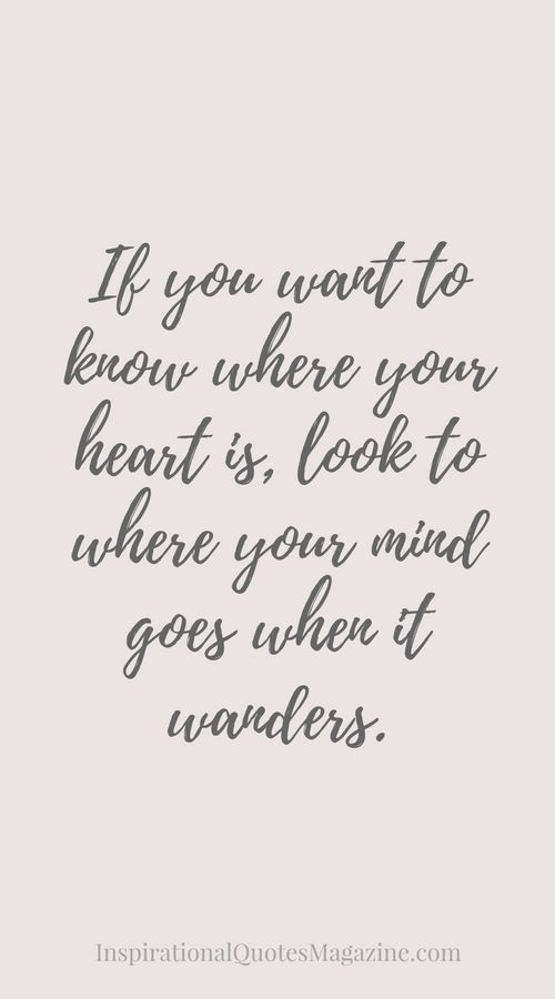 "Love Inspirational Quotes Awesome Love Quote  Love Quote Idea  ""if You Want To Know Where You"