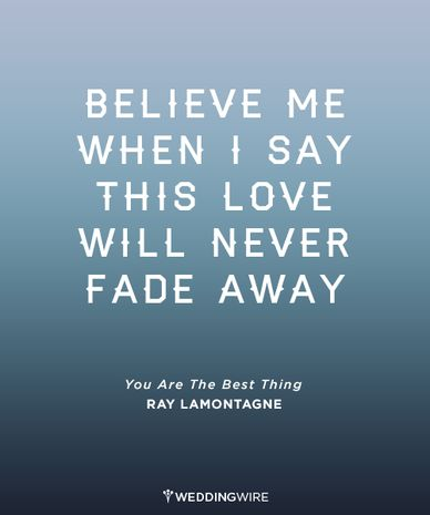 Love Quote 50 Most Romantic Song Lyrics For Weddings