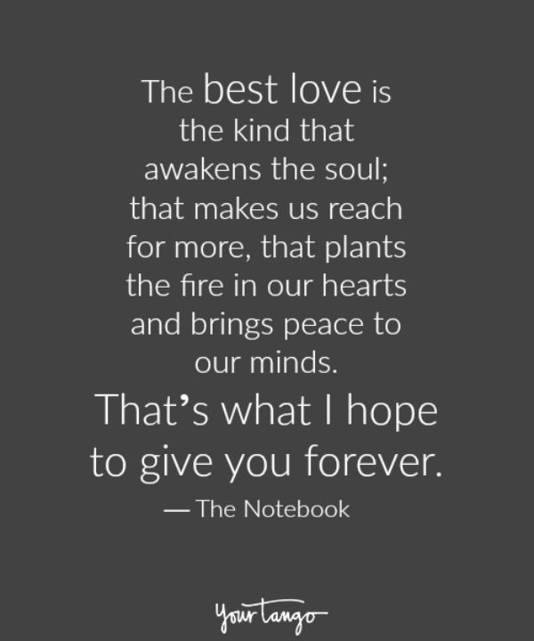 Love Quotes From The Notebook Love quote : Love quot...
