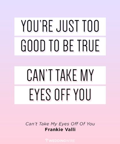 Song Quotes About Love Fascinating Love Quote 48 Most Romantic Song Lyrics For Weddings QuotesStory
