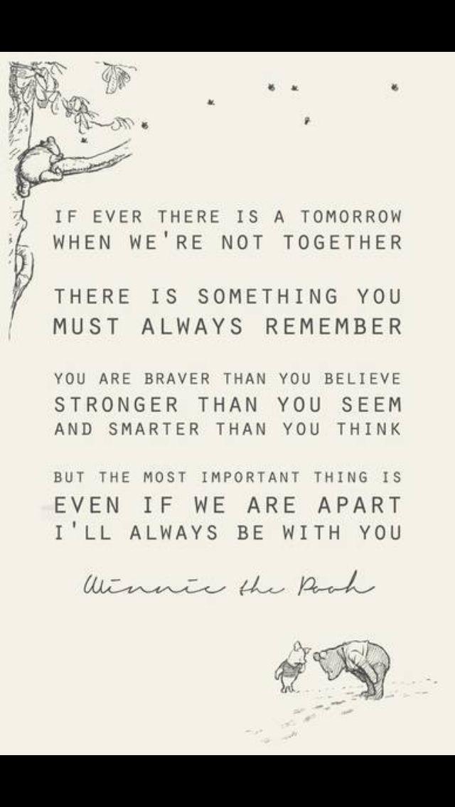 Love quote : Love quote idea - wedding vow idea - Winnie the Pooh ...