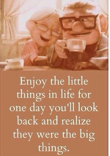 Love Quote Movie Love Quote Enjoy The Little Things In Life For