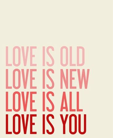 Love Quote Sale Love Is Old Love Is New The Beatles Song