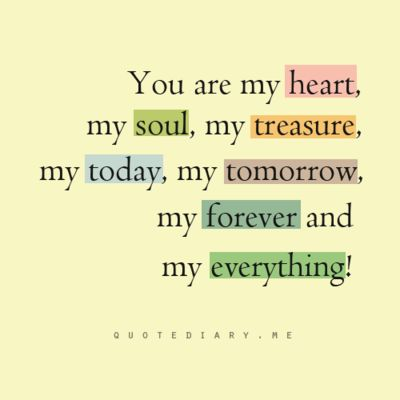 love quote wedding vows idea   you are my heart my