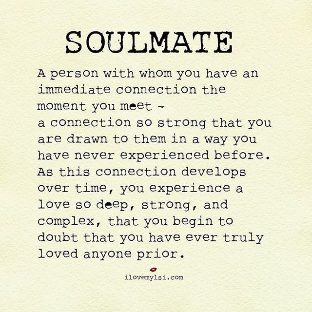 Does everyone have a soulmate
