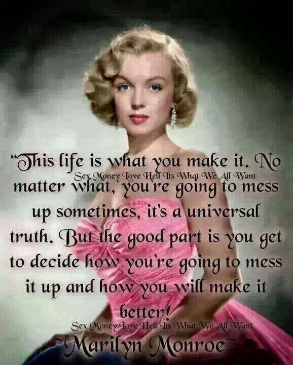 Marilyn Monroe Marilyn Monroe Quote ✦⊱Estella Seraphim Unique Marilyn Monroe Quotes About Friendship