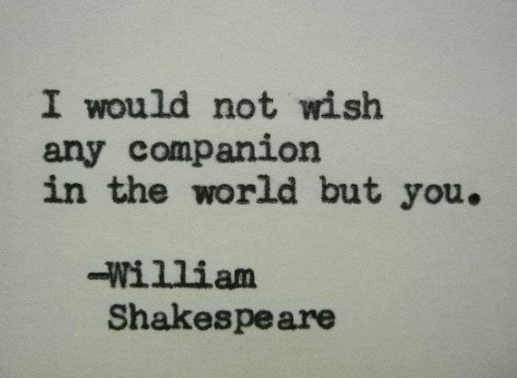 William Shakespeare Love Quotes Delectable William Shakespeare Quotes WILLIAM SHAKESPEARE Love Quote Typed On