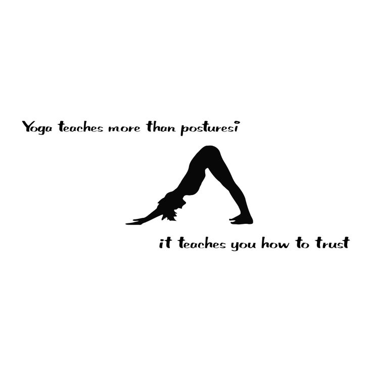 Best Quotes About Strength Yoga Quote Yoga Teaches More Black Vinyl Wall Decal Sticker Overstock Com Shopping The Best Deals On Vinyl Wall Art Quotesstory Com Leading Quotes Magazine Find