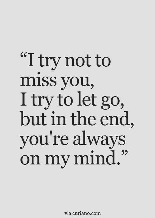 Love I M Afraid You Ll Always Be On My Mind Always Be