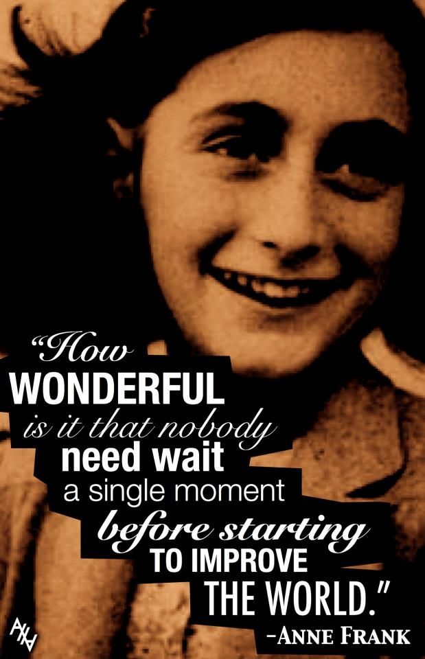 as the quote says description anne frank the diary