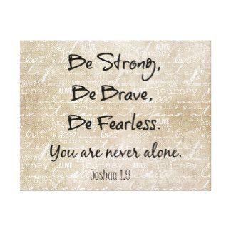 Best Quotes about Strength Rustic Bible Quotes Canvas Prints ...