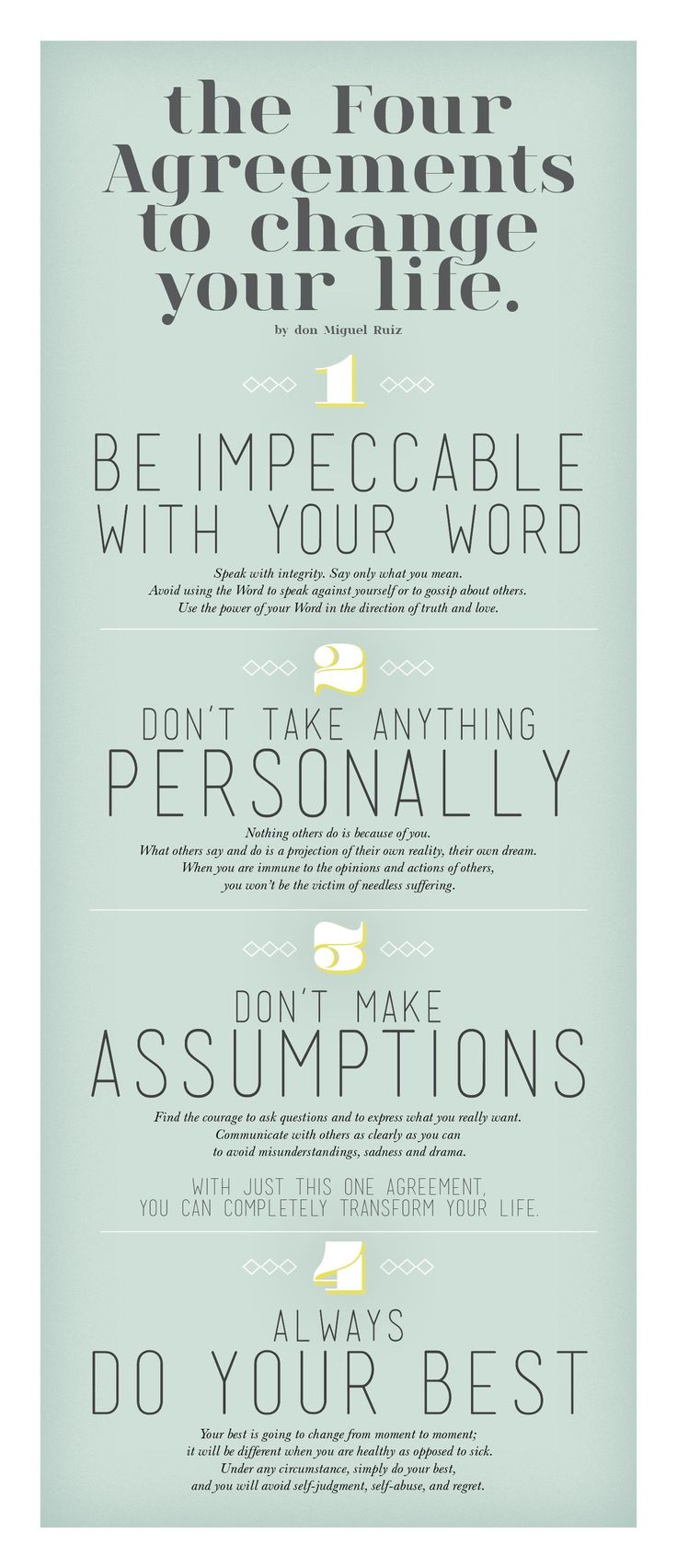 Best Quotes About Strength E Four Agreements To Change Your Life