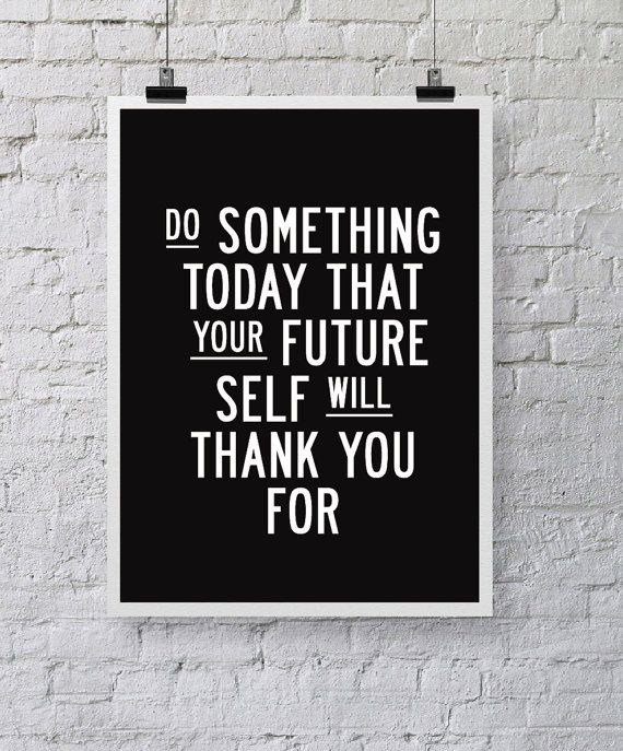 Inspirational Quote Wall Decor Do Something par TheMotivatedType ...