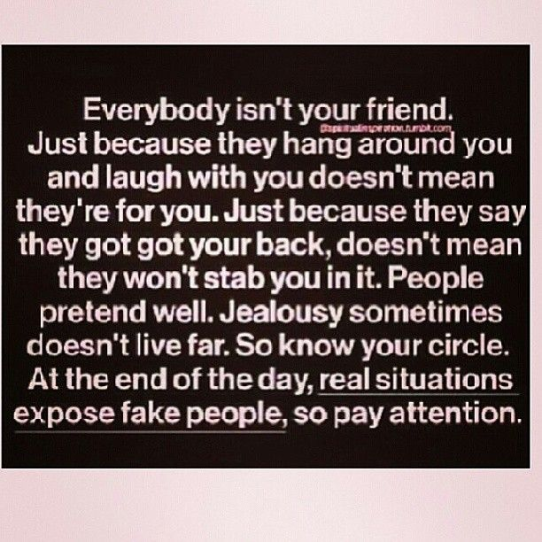 Jealousy Quotes Everybody Isnt Your Friend Just Because They