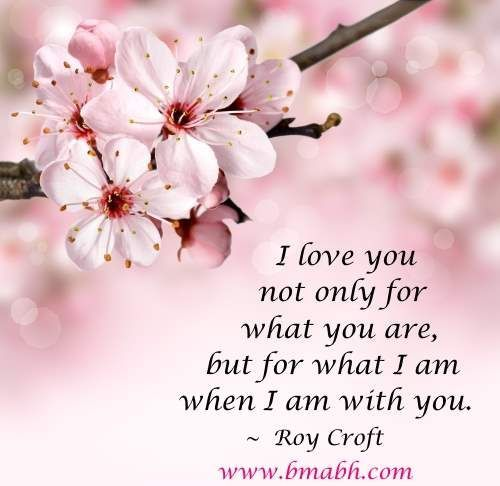 Love : Love quote : Love : cute love quotes for her by Roy Croft-I ...
