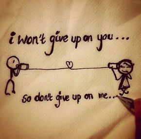 Wont Give Up Love Quotes For Her Quotesstorycom Leading