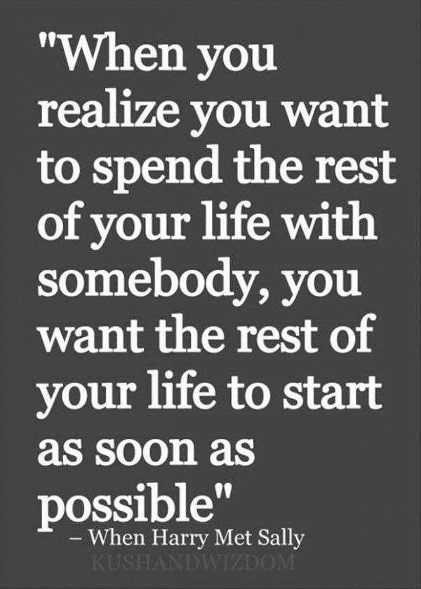 Soulmate Quotes : 6. The Rest of Your Life - 18 #Beautiful ...