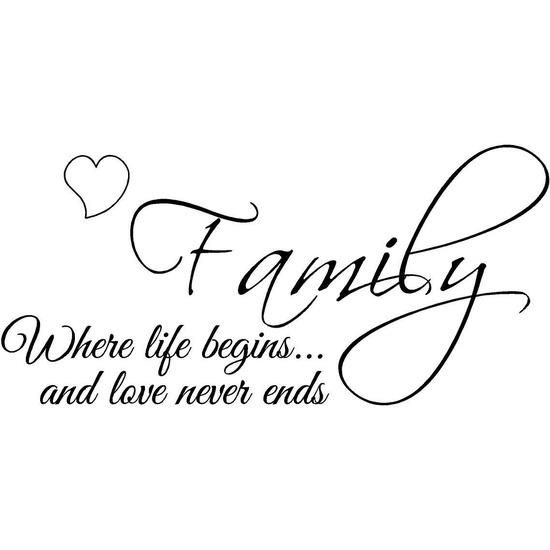 Soulmate Quotes : ❤ I love my little family