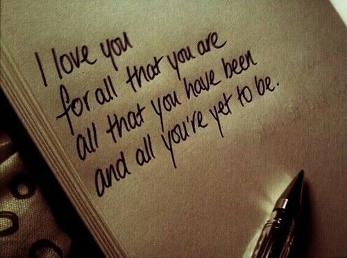 Soulmate Quotes I Love You For All That You Are And All You Are