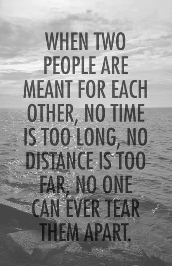 Soulmate Quotes Long Distance Relationship Quotes Him