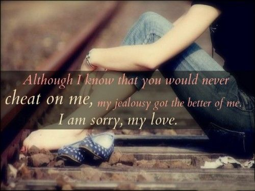 Love : love apology quotes sorry for him her ...