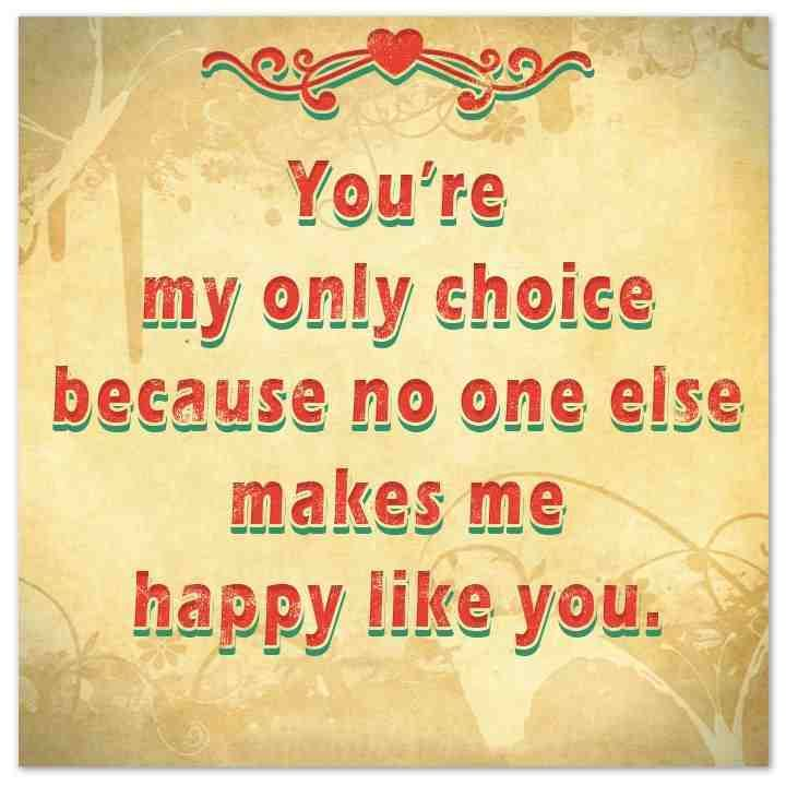 Love No One Else Makes Me Happy Like You Quotesstorycom