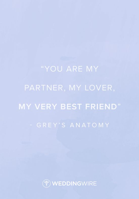 Love quote : Grey\'s Anatomy love quote - \
