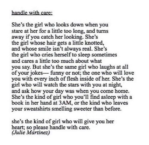 you re the kind of girl