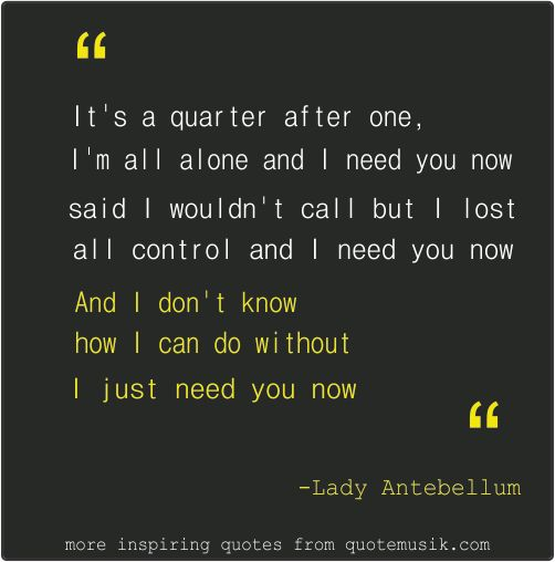Love Love Quotes For Her Need You Now QuotesStory Leading Custom Need Love Quotes