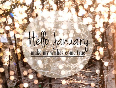 January 2018 Quotes Hello January Quotes Quote January Hello