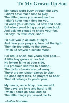 Love A Mother S Love Poem For Her Son Quotesstory Com Leading