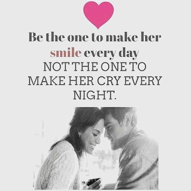 Love Be The One To Make Her Smile Love Love Quotes Quotes Couples