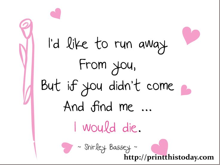 Love Reasons Why I Love You Quotes Like To Run Away From You But