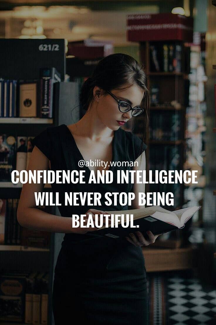 Confidence intelligence quotes empowering quotes empowering as the quote says description confidence altavistaventures Image collections