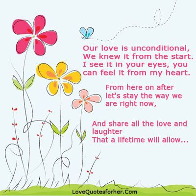 Love My Love Is Unconditional Quotes For Her Quotesstorycom