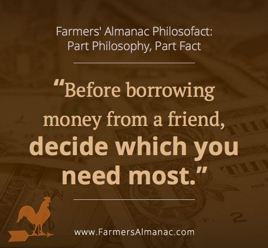 Friendship Quotes Before Borrowing Money From A Friend Decide Cool Money And Friends Quotes