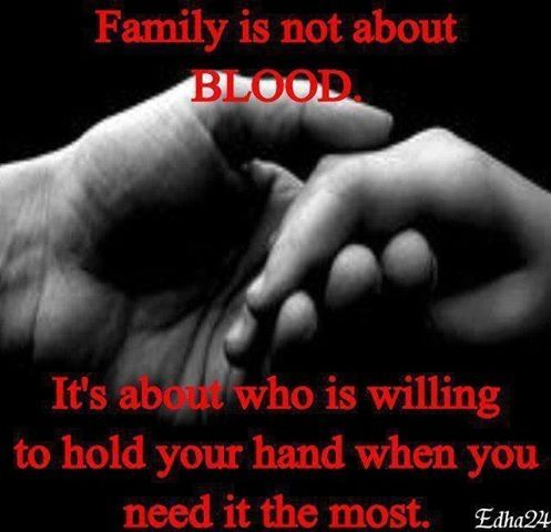 Friendship Quotes Family Is Not Always About Blood Pictures