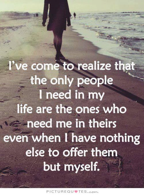 Friendship Quotes : I\'ve come to realize.... quote friends ...