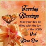 Tuesday Quotes Tuesday Blessings Good Morning Image