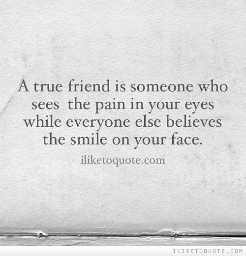 Friendship Quotes : A true friend - QuotesStory.com ...