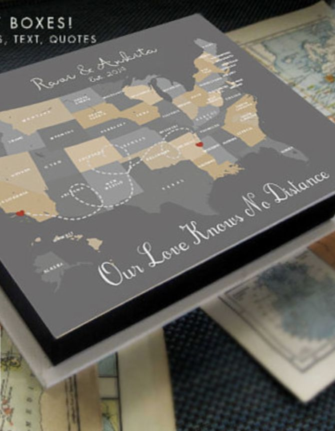 Long Distance Relationship Long Distance Memory Box This Is The