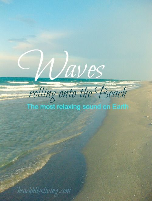 Summer Quotes : Capture the Experience of Waves Rolling onto ...